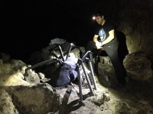 La araña y su creador, Edu