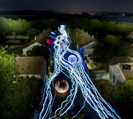Reality Light Painting 2015