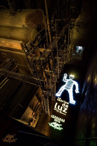 Giant Lightman making of. Cámara secundaria