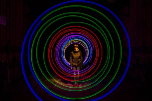 Taller Lightpainting Children Of Darklight & DaveAstur & Edu Cajigal