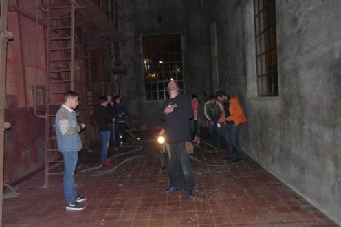 Making of Giant Lightman en Jornadas Lightpainting 2015