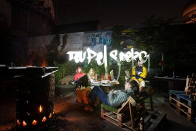 Foto: Sfhir. Lightpainting: Sfhir. Model: the crew