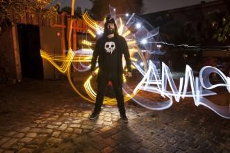 Foto: Sfhir. Lightpainting: Sfhir. Model: Jannis Sid