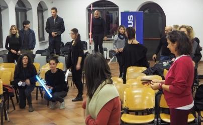 RGB LIGHT EXPERIENCE. Workshop by DKL & Maria Sagesse