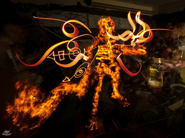 freestyle by DKL & Cisco Lightpainting