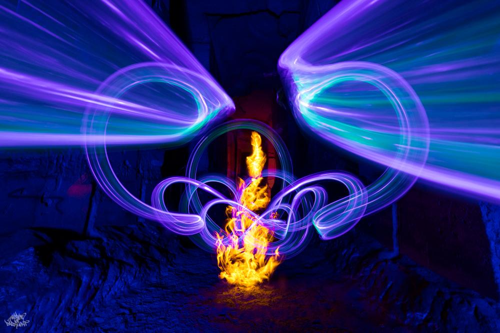 Bélgica. Foto: Frodo DKL, lightpainters: Frodo DKL