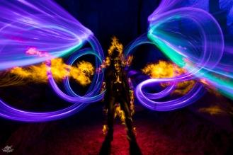 Bélgica. Foto: Frodo DKL, lightpainter: Frodo DKL, model: Dan Whitaker