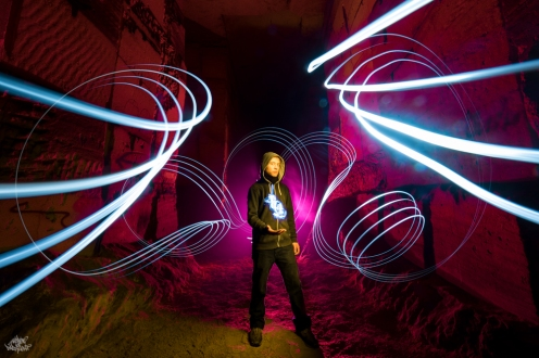 Bélgica. Foto: Frodo DKL, lightpainter: Frodo DKL, model: Will Light