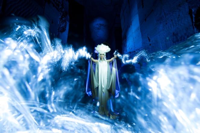 Bélgica. Foto: Frodo DKL, lightpainter: Frodo DKL, model: Patry Diez, Stylism: Patry Diez & Kim Von Coels