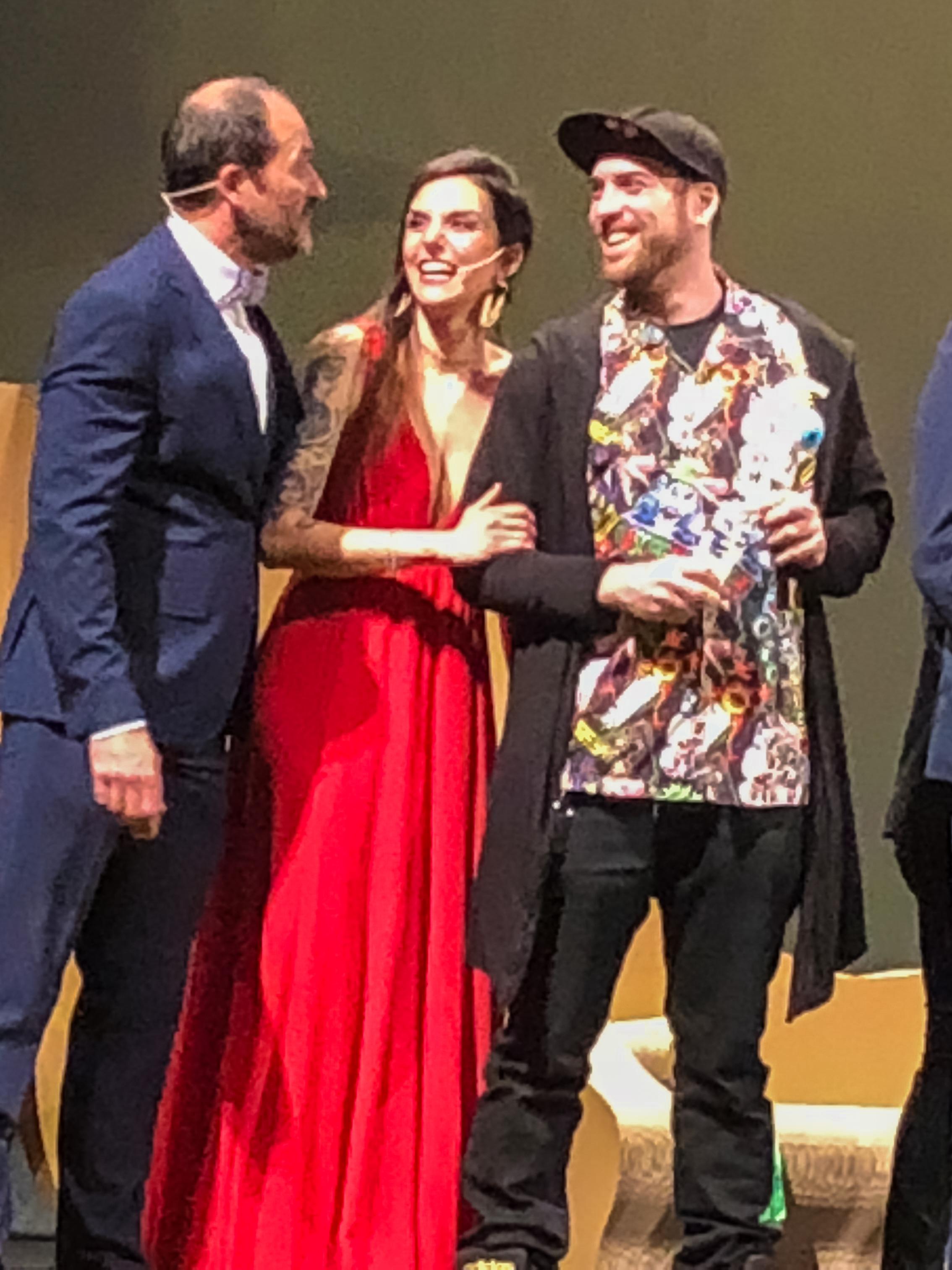 III Premios GAVA 2018. Alberto Rodríguez, Ana Francisco, Frodo DKL