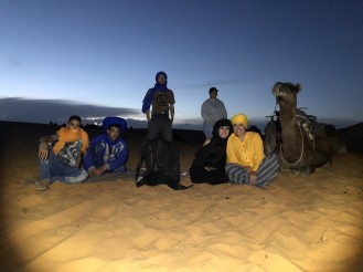 LIGHTPAINTERSUNITED #3 MERZOUGA MEETING 2018. Photo: Frodo DKL